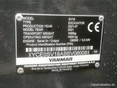 minibager Yanmar SV18 rypadlo na splátky bez preplatenia